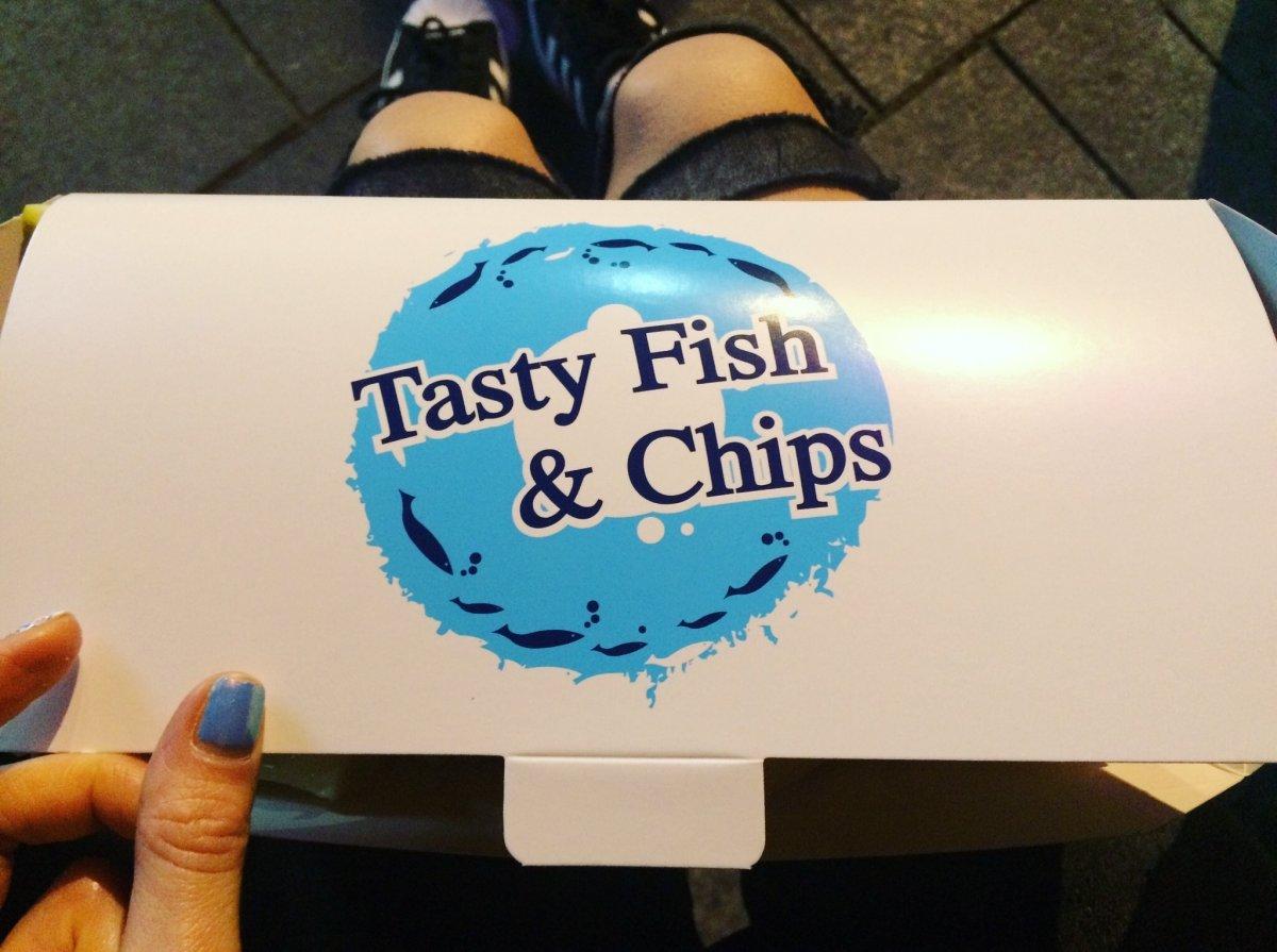 opakowanie z fish&chips